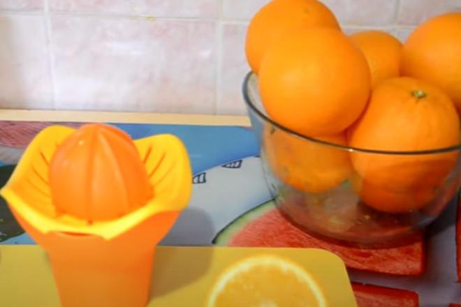 Снятие цедры с лимона