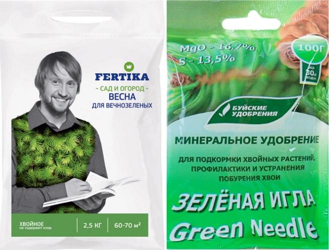 Фертика и зеленая игла
